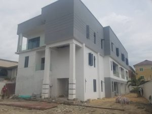 FOR SALE: 3 units of 4 bedroom terrace duplex at Salem, Lekki.